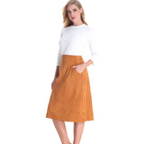A Line Ultra Pocketed Skirt 2790C - MissFinchNYC