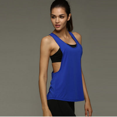 Womans fitness singlet