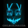 Sewed Mouth LED Light Up Mask B01261