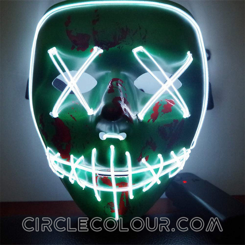 Ghost LED Light Up Masks B01256