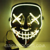 Scary LED Light Up Mask - Yellow B01246