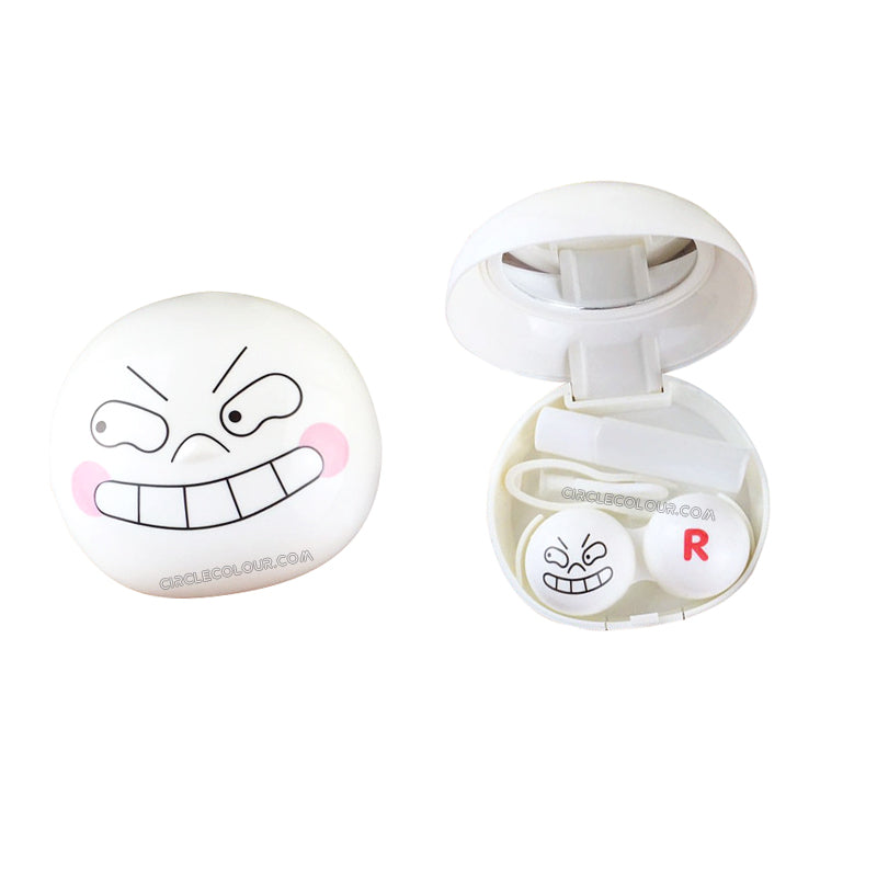 Funny Emoticon Package Contact Case B01568