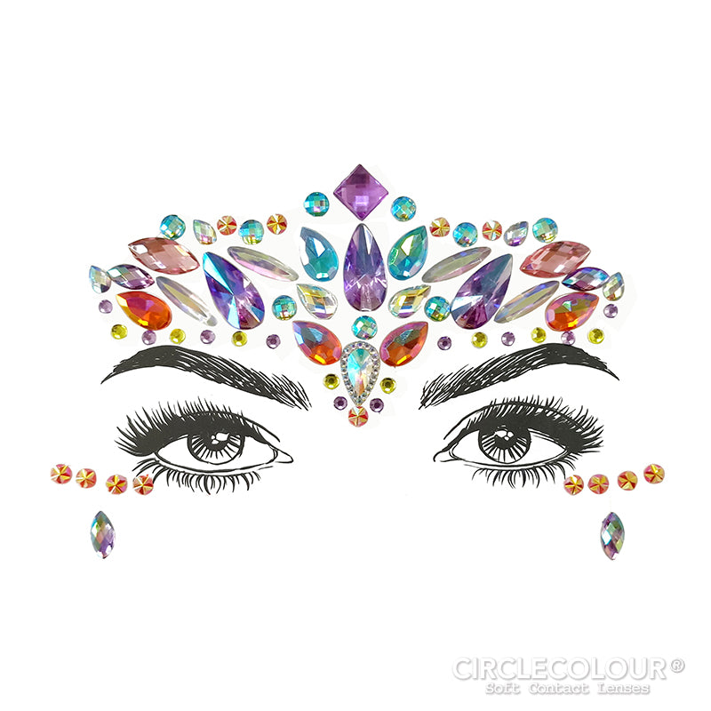 CircleColour® Face Jewels B2251