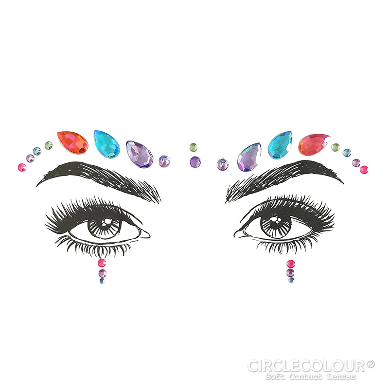 CircleColour® Face Jewels B2252
