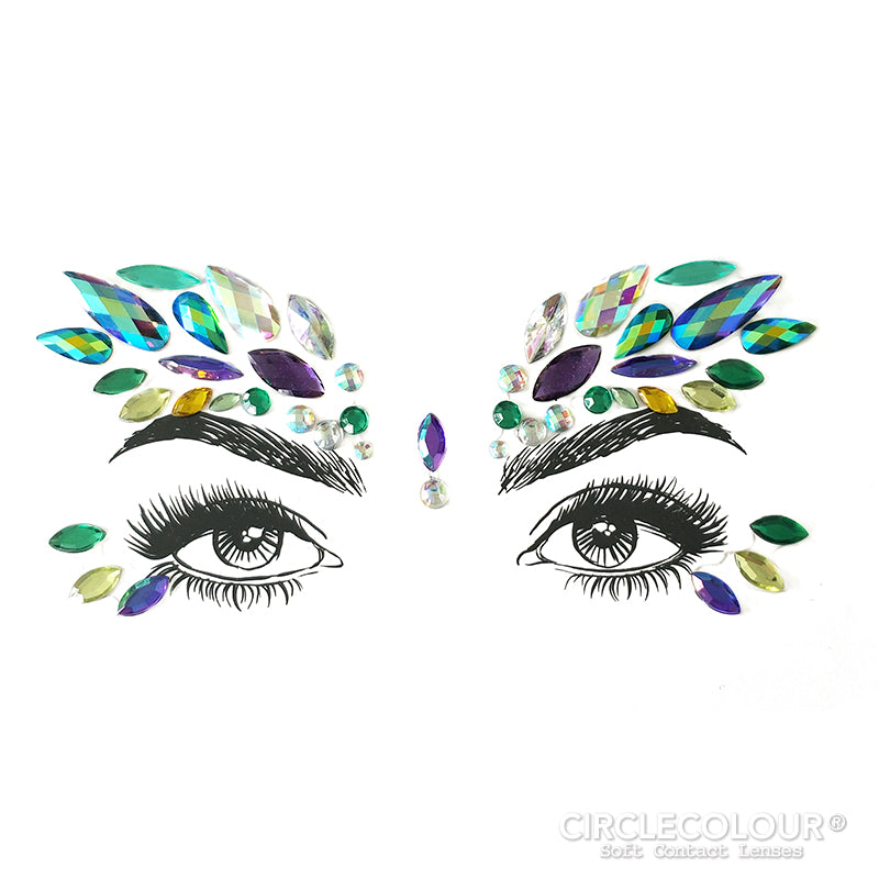 CircleColour® Face Jewels B2253