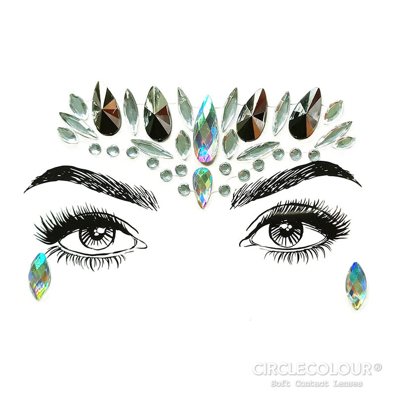 CircleColour® Face Jewels B2257