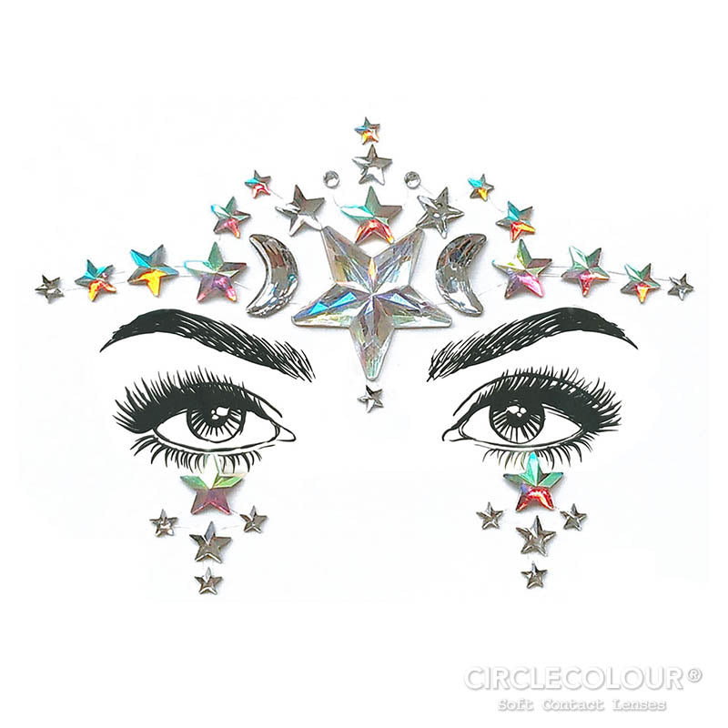 CircleColour® Face Jewels B2258