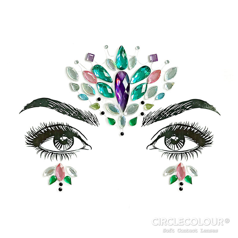 CircleColour® Face Jewels B2259