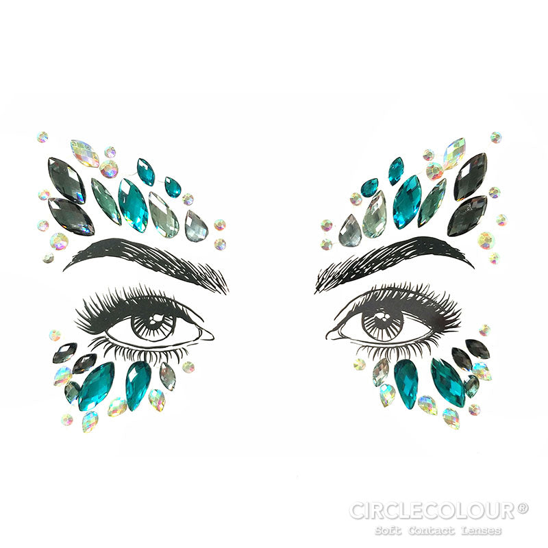 CircleColour® Face Jewels B2260