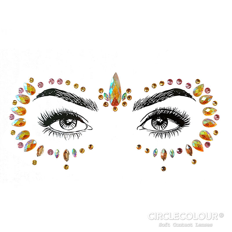 CircleColour® Face Jewels B2263