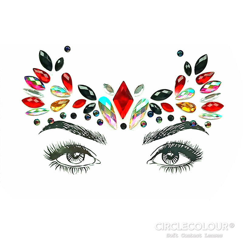 CircleColour® Face Jewels B2268