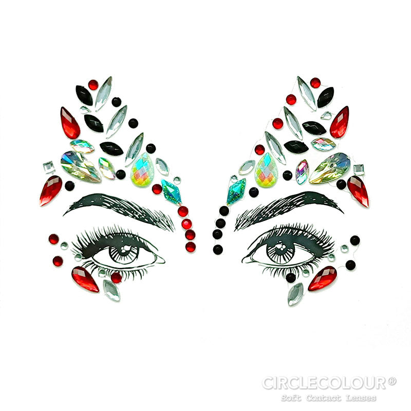 CircleColour® Face Jewels B2270