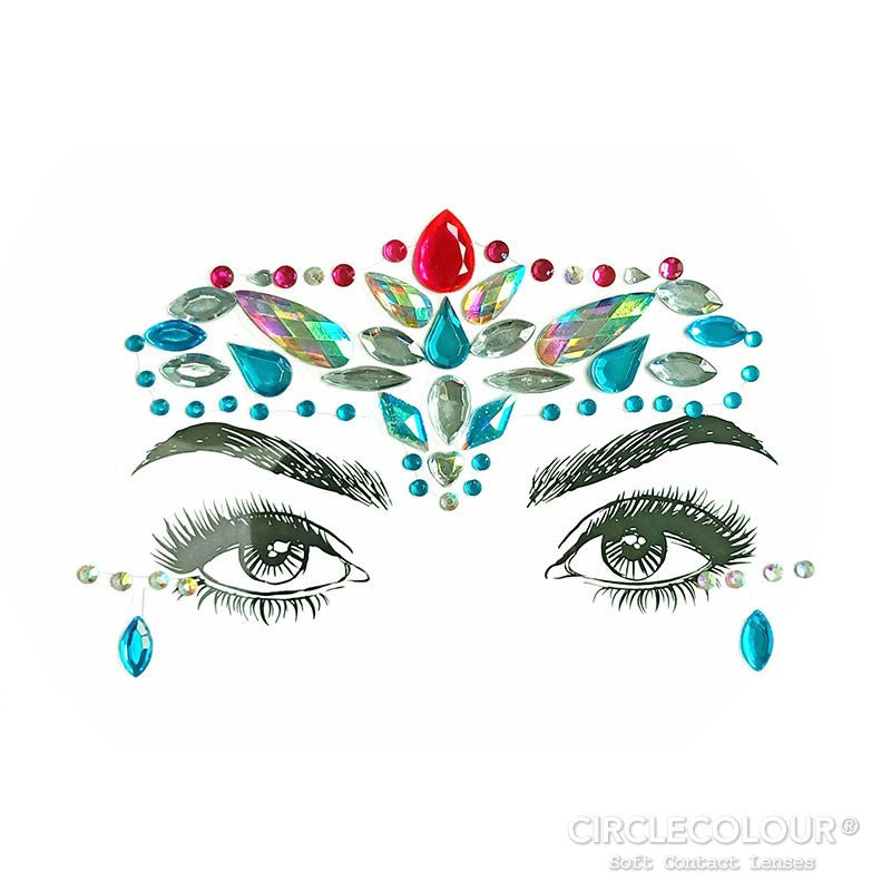 CircleColour® Face Jewels B2272