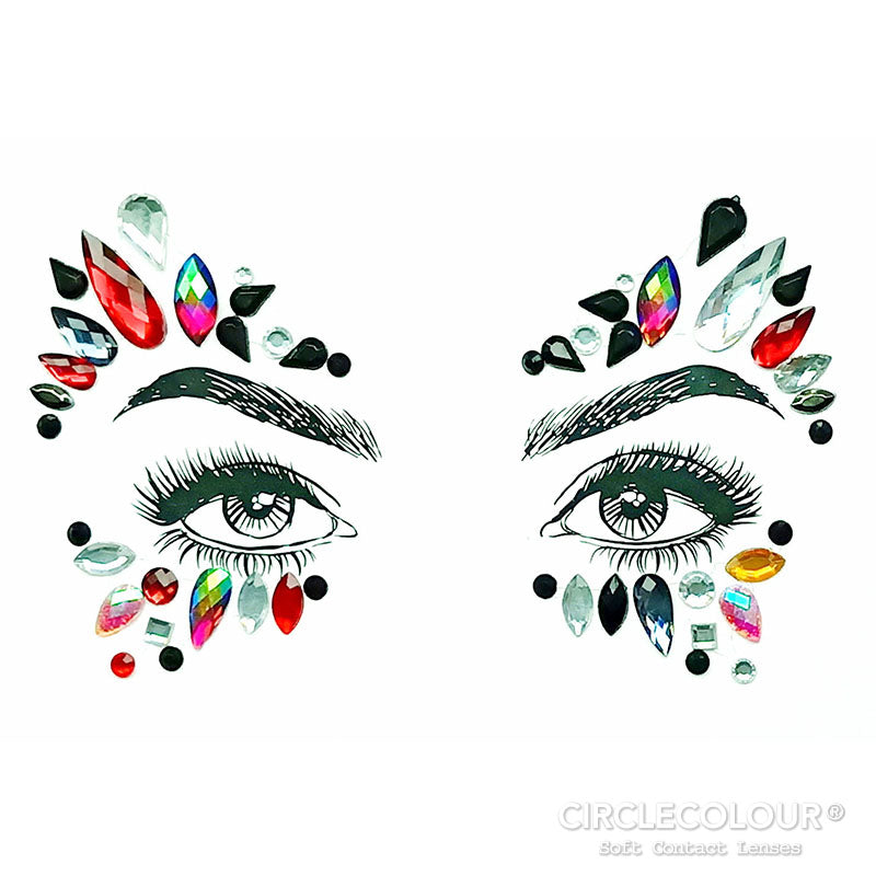 CircleColour® Face Jewels B2275