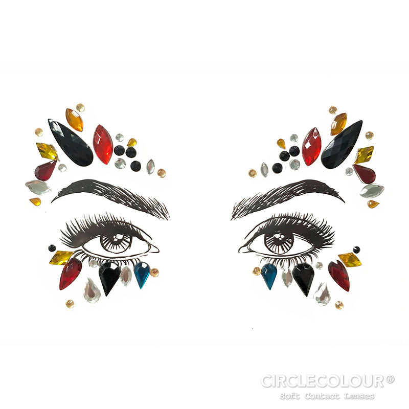 CircleColour Face Jewels B2276