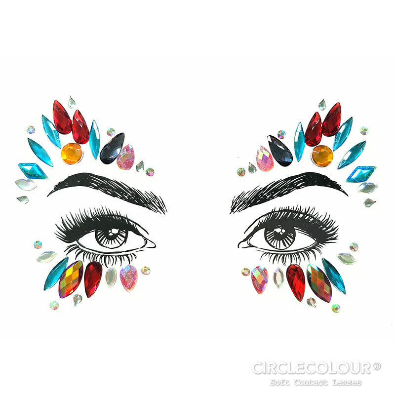 CircleColour Face Jewels B2277
