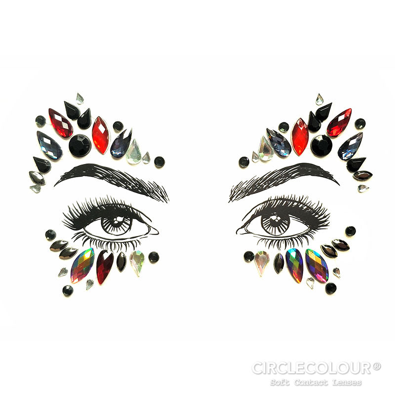CircleColour Face Jewels B2278