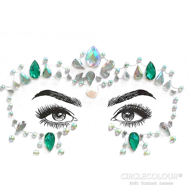 CircleColour Face Jewels B2287