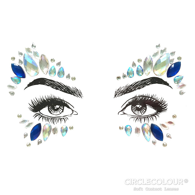 CircleColour Face Jewels B2289