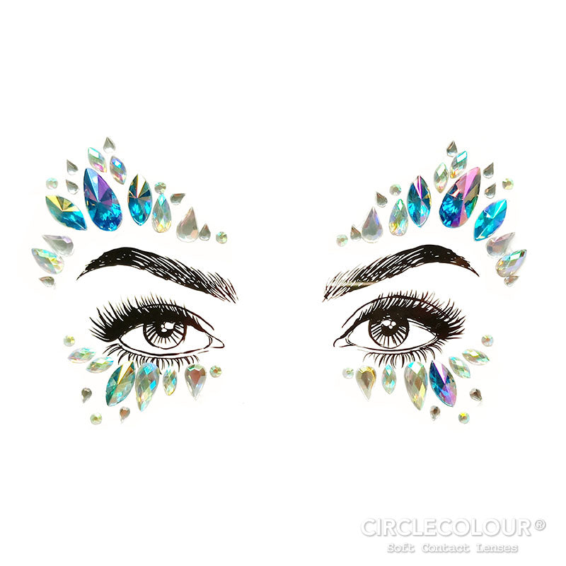 CircleColour Face Jewels B2285