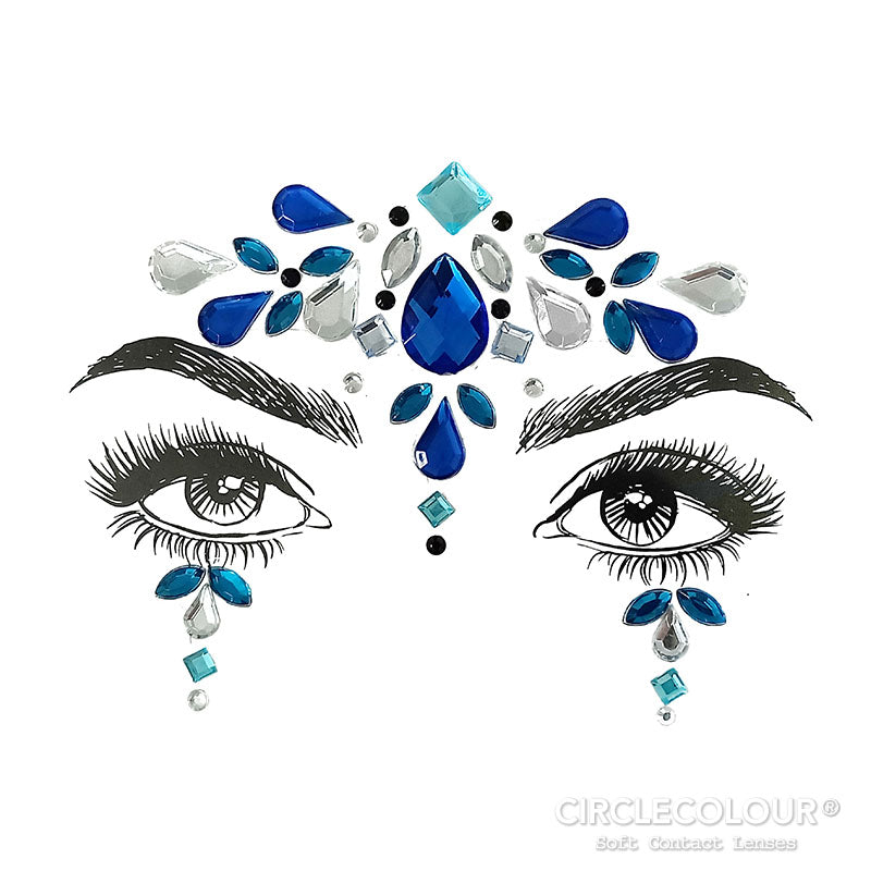 CircleColour Face Jewels B2286