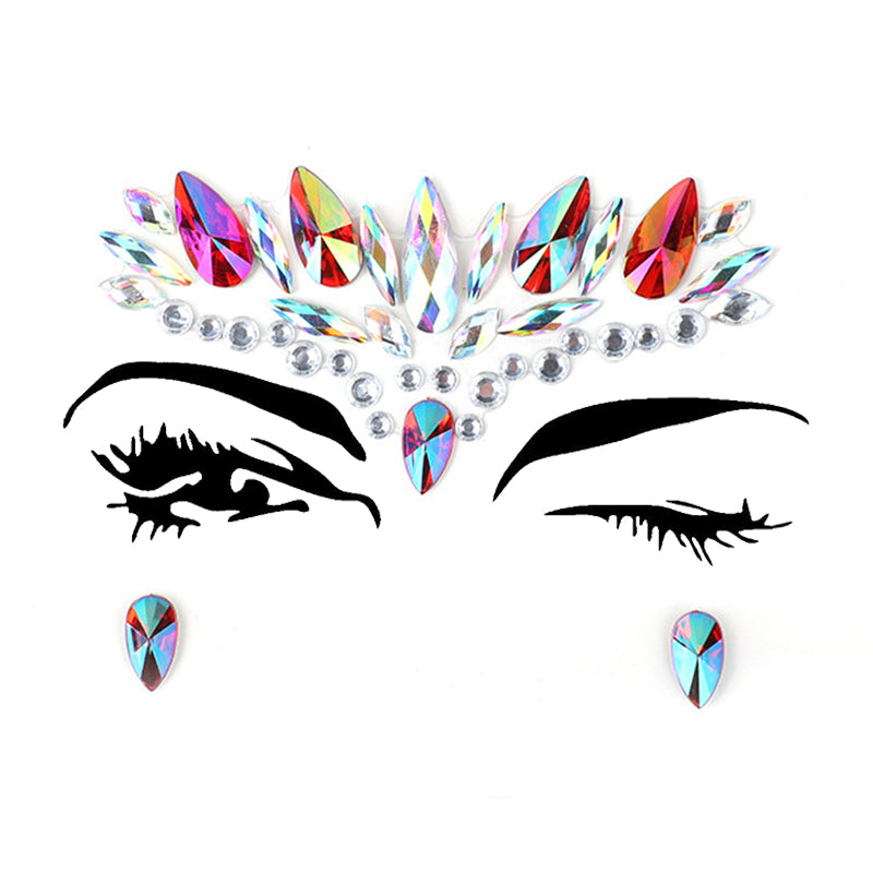 CIRCLECOLOUR® Resin Crystal Face Jewels B2293