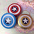 CIRCLECOLOUR® Captain America Lens Case B2300