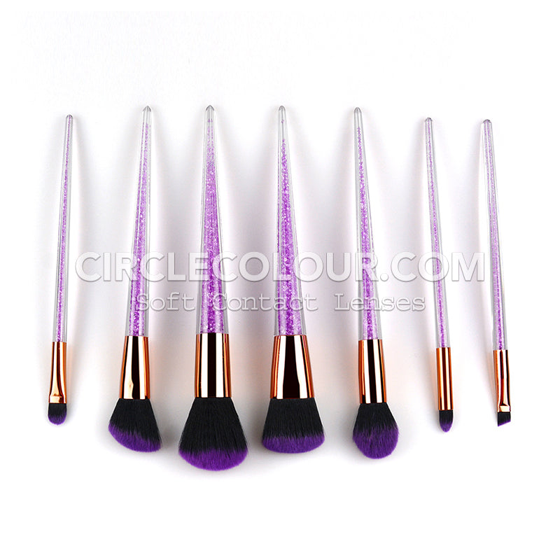 Crystal Makeup Brushes B02061
