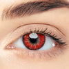 CircleColour® Soft Eye Circle Lens Single Demon Red Cosplay Colored Contact Lenses M004