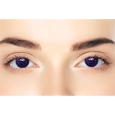 CircleColour® Soft Eye Circle Lens Ciel's Purple Cosplay Colored Contact Lenses M0110
