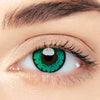 CircleColour® Soft Eye Circle Lens Gem Green Cosplay Colored Contact Lenses M01892