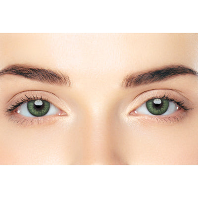 CircleColour® Soft Eye Circle Lens Seattle II Green Dream Colored Contact Lenses M02164