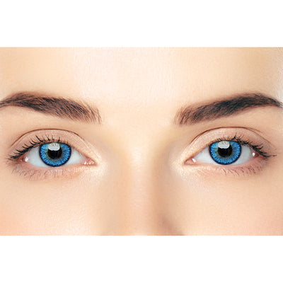 CIRCLECOLOUR® Soft Eye Circle Lens Icy Blue Cosplay Colored Contact Lenses M0290