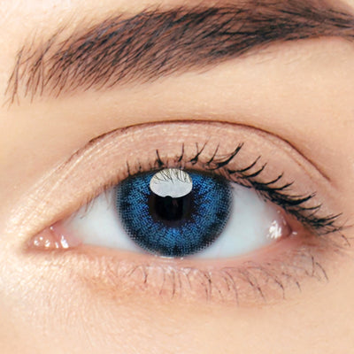 CircleColour® Soft Eye Circle Lens Astigmatism Vintage Blue Enlarge Colored Contacts Lens M0469