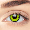 CircleColour® Soft Eye Circle Lens Lace Yellow Cosplay Colored Contact Lenses M0567