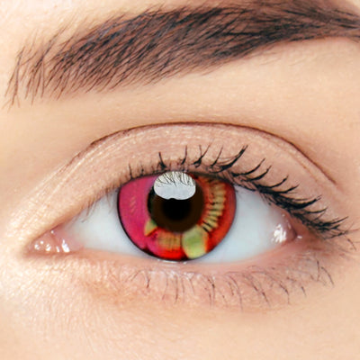 CircleColour® Soft Eye Circle Lens Dimension Pink Cosplay Colored Contact Lenses M0639