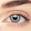 CircleColour® Soft Eye Circle Lens Pro Crystal Grey Party Colored Contact Lenses M0727