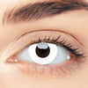 CircleColour® Soft Eye Circle Lens Pure White Cosplay Colored Contact Lenses M077