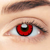 CircleColour® Soft Eye Circle Lens Tokyo Ghoul Lace Red Cosplay Colored Contact Lenses M0991