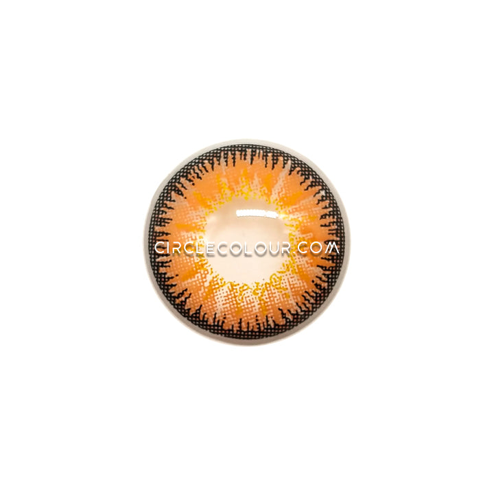 CircleColour® Soft Eye Circle Lens Single Brown Cosplay Colored Contact Lenses M0010