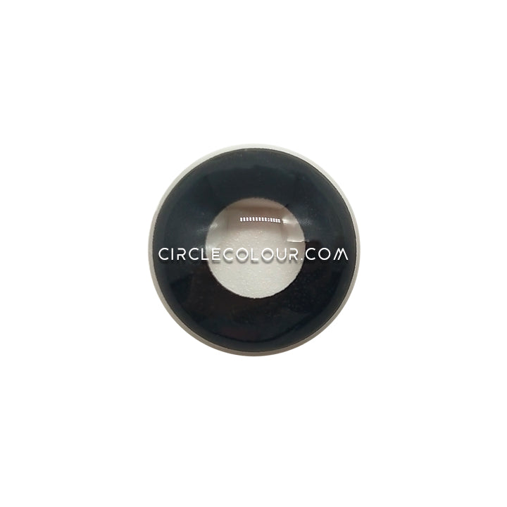 CircleColour® Soft Eye Circle Lens Pure Black Cosplay Colored Contact Lenses  M0100