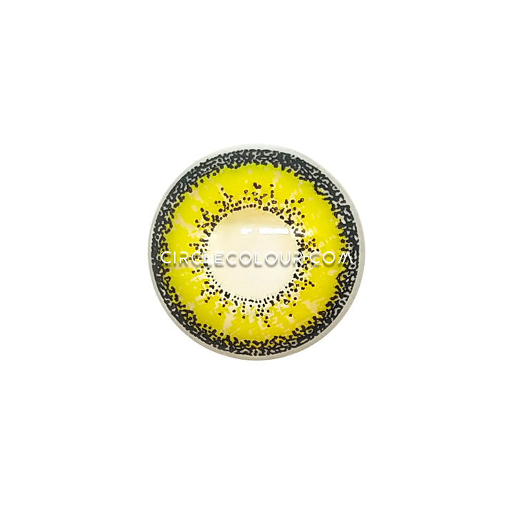 CircleColour® Soft Eye Circle Lens Kise Ryota Yellow Cosplay Colored Contact Lenses M0107
