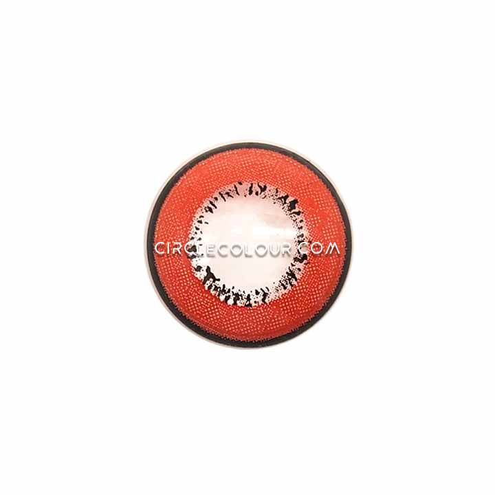 CircleColour® Soft Eye Circle Lens Harajuku Storm Red Colored Contact Lenses M01071