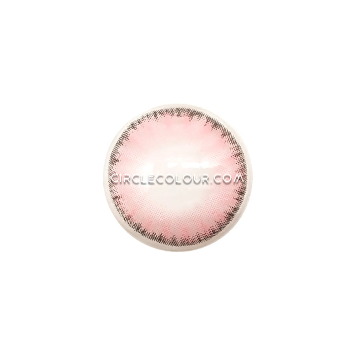 CircleColour® Soft Eye Circle Lens Ice Dew Pink Dream Colored Contact Lenses M0321