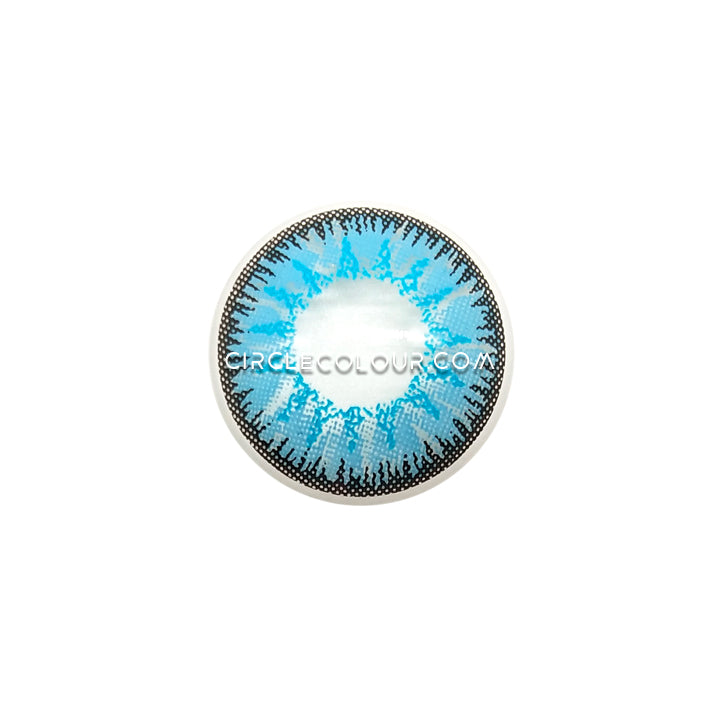 CircleColour® Soft Eye Circle Lens Single Ocean Blue Cosplay Colored Contact Lenses M0034