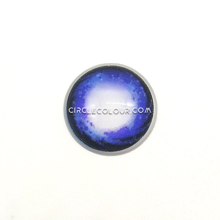 CircleColour® Soft Eye Circle Lens Starry Sky Purple Dream Enlarge Colored Contact Lenses M0355
