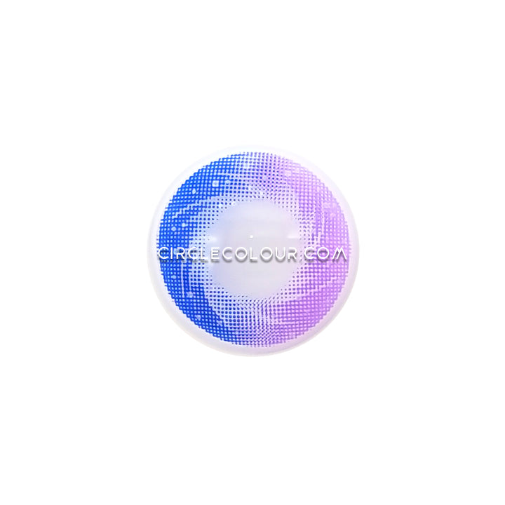 CircleColour® Soft Eye Circle Lens Toric Galaxy Purple Dream Colored Contact Lenses M0543