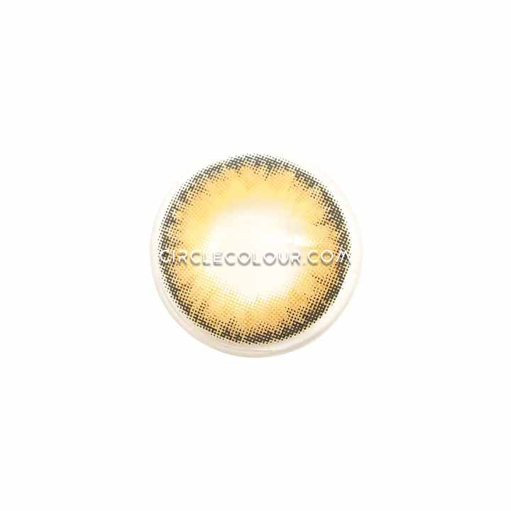 CircleColour® Soft Eye Circle Lens Toric PRO Caramel Brown Natural Colored Contact Lenses  M0552