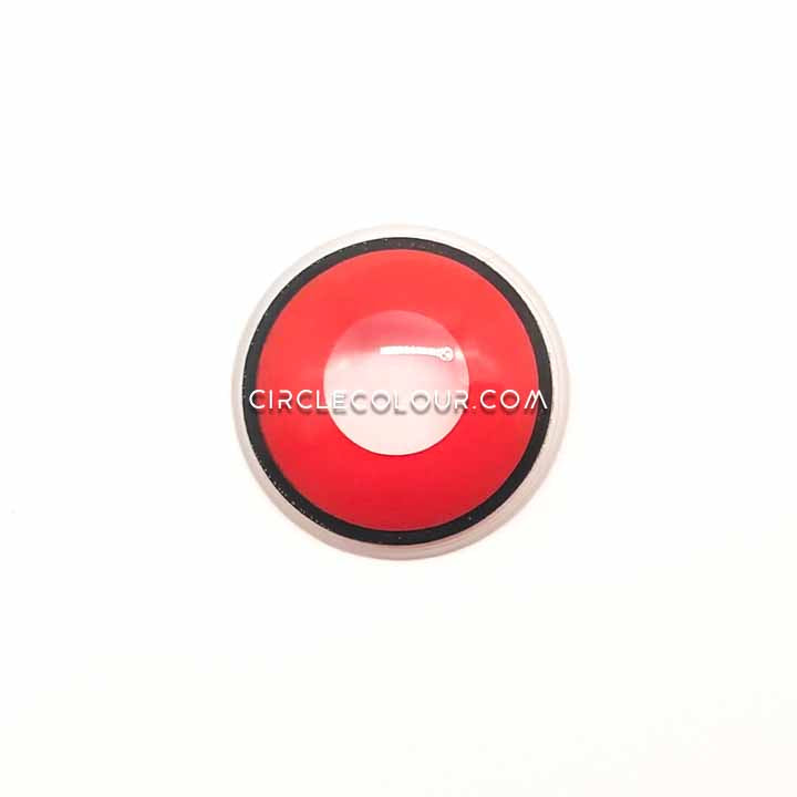 CircleColour® Soft Eye Circle Lens Red black Edge Cosplay Colored Contact Lenses M0568