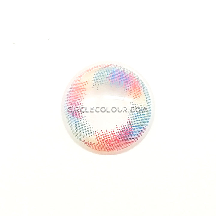CircleColour® Soft Eye Circle Lens Mermaid Tears Pink Dream Colored Contact Lenses M0576